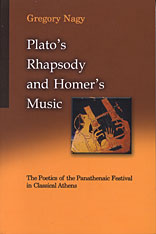 Cover: Plato's Rhapsody and Homer's Music in PAPERBACK