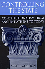 Cover: Controlling the State: Constitutionalism from Ancient Athens to Today