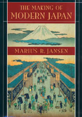 Cover: The Making of Modern Japan in PAPERBACK
