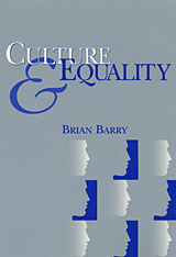 Cover: Culture and Equality: An Egalitarian Critique of Multiculturalism