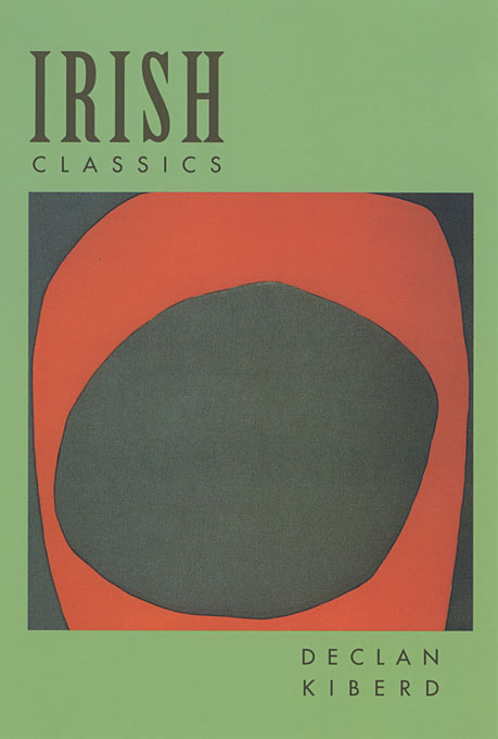Cover: Irish Classics, from Harvard University Press