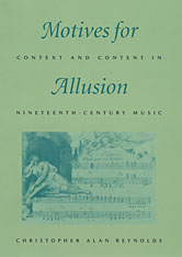Cover: Motives for Allusion: Context and Content in Nineteenth-Century Music