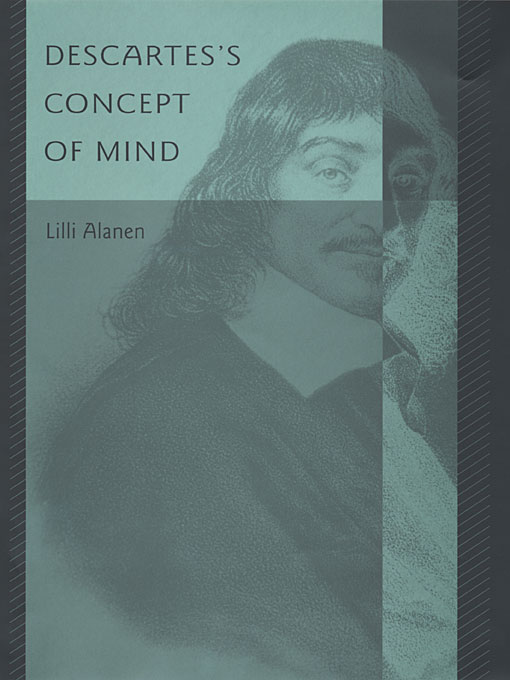Cover: Descartes's Concept of Mind, from Harvard University Press