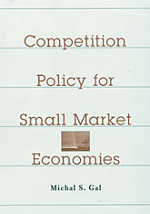 Cover: Competition Policy for Small Market Economies in HARDCOVER