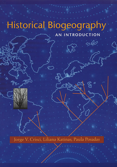 Cover: Historical Biogeography: An Introduction, from Harvard University Press
