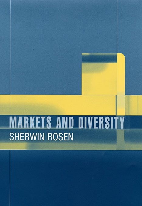 Cover: Markets and Diversity, from Harvard University Press
