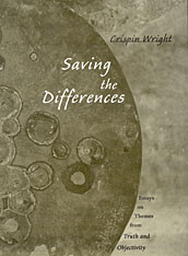 Cover: Saving the Differences: Essays on Themes from <i>Truth and Objectivity</i>