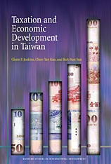 Cover: Taxation and Economic Development in Taiwan