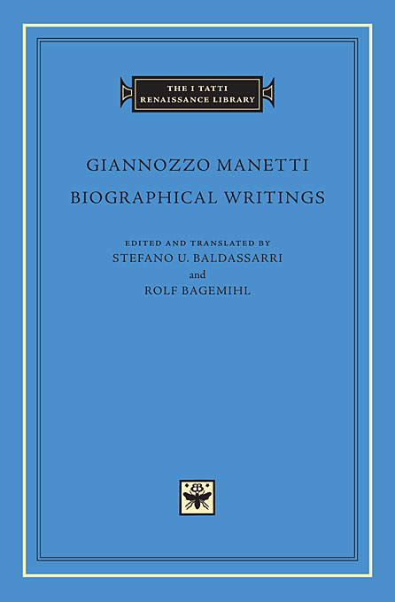 Cover: Biographical Writings, from Harvard University Press