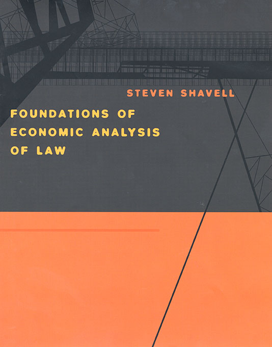 Cover: Foundations of Economic Analysis of Law, from Harvard University Press