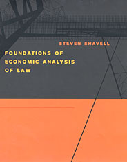 Cover: Foundations of Economic Analysis of Law