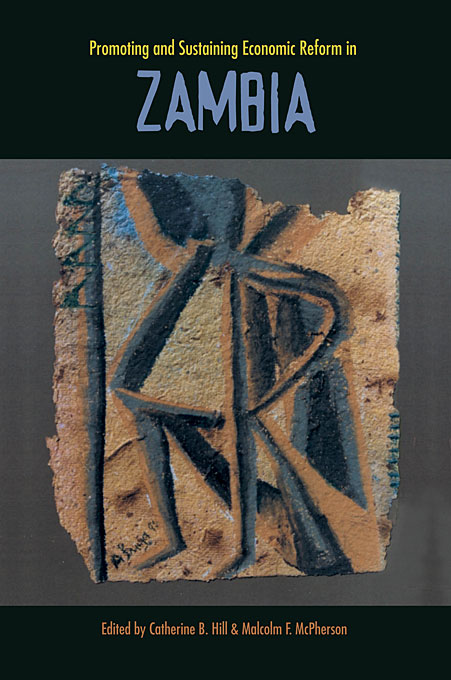 Cover: Promoting and Sustaining Economic Reform in Zambia, from Harvard University Press