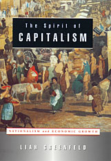 Cover: The Spirit of Capitalism: Nationalism and Economic Growth