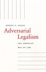 Cover: Adversarial Legalism: The American Way of Law
