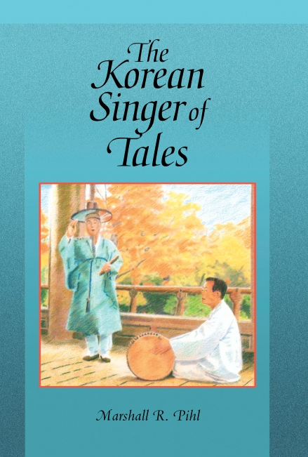 Cover: The Korean Singer of Tales, from Harvard University Press