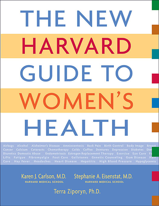Cover: The New Harvard Guide to Women's Health, from Harvard University Press