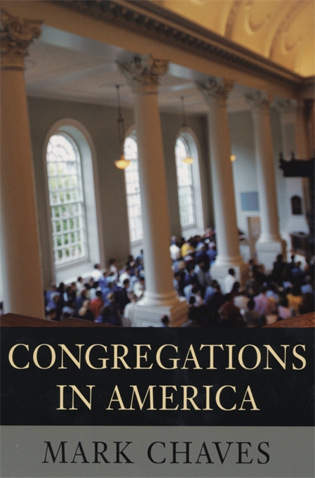 Cover: Congregations in America, from Harvard University Press