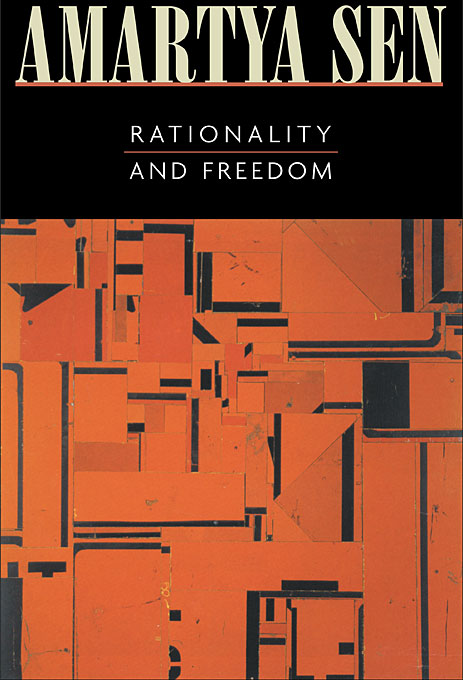 Cover: Rationality and Freedom, from Harvard University Press