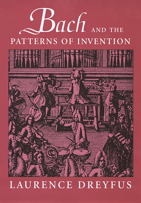 Cover: Bach and the Patterns of Invention, from Harvard University Press