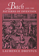 Cover: Bach and the Patterns of Invention in PAPERBACK