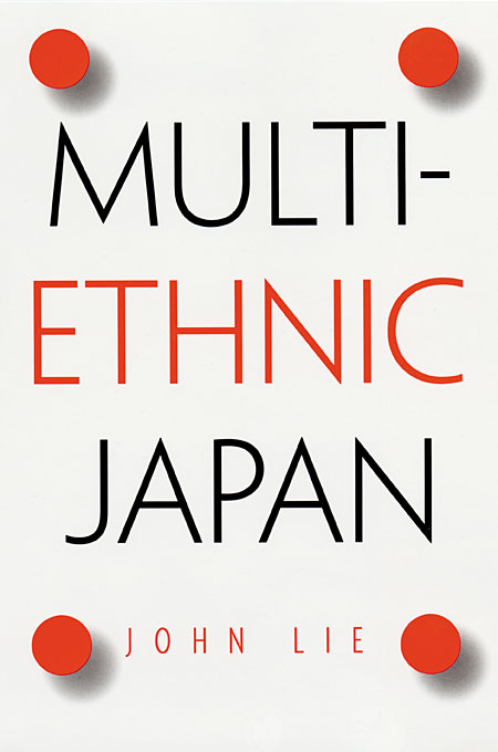 Cover: Multiethnic Japan, from Harvard University Press