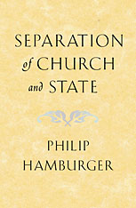 Cover: Separation of Church and State in PAPERBACK