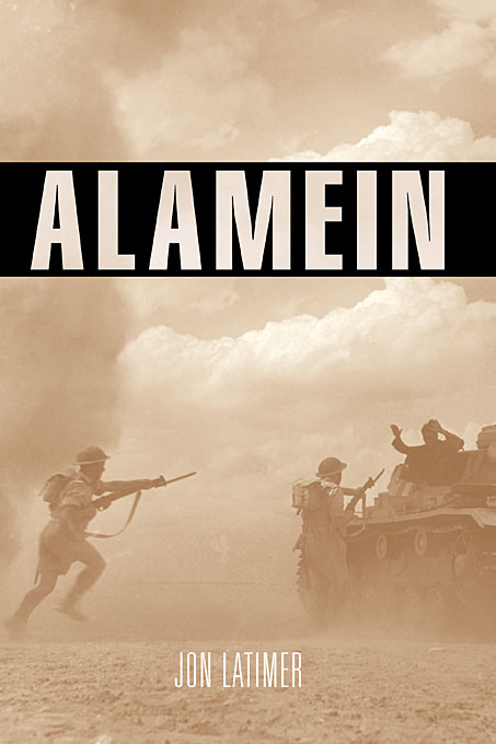 Cover: Alamein, from Harvard University Press