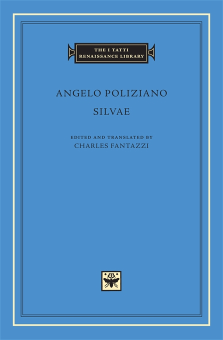 Cover: Silvae, from Harvard University Press