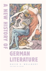 Cover: A New History of German Literature in HARDCOVER