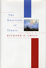 Cover: The Questions of Tenure in PAPERBACK