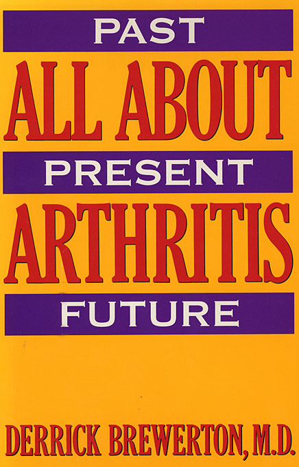 Cover: All About Arthritis, from Harvard University Press
