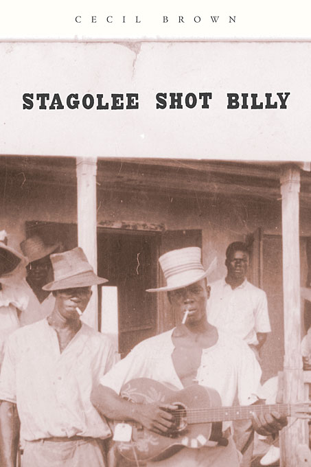 Cover: Stagolee Shot Billy, from Harvard University Press