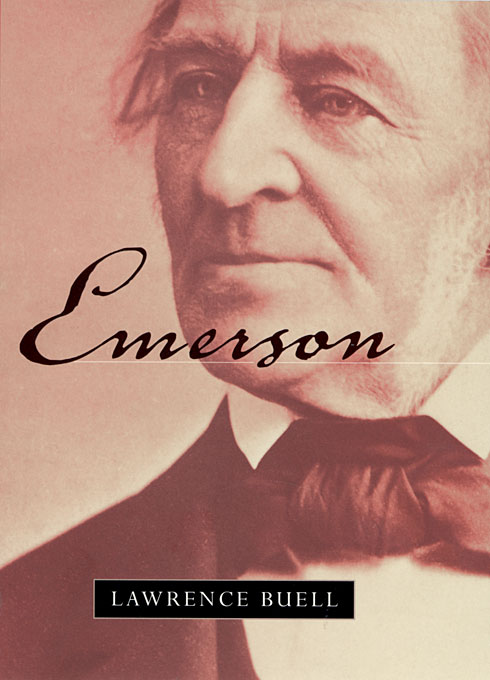 Cover: Emerson, from Harvard University Press
