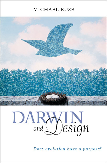 Cover: Darwin and Design: Does Evolution Have a Purpose?, from Harvard University Press