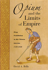 Cover: Opium and the Limits of Empire in HARDCOVER