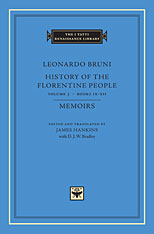 Cover: History of the Florentine People, Volume 3: Books IX-XII. Memoirs