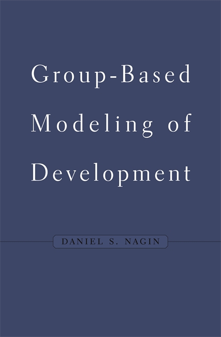 Cover: Group-Based Modeling of Development, from Harvard University Press
