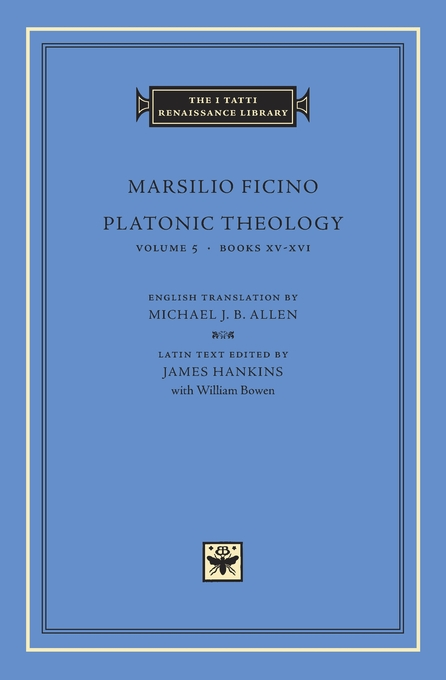 Cover: Platonic Theology, Volume 5: Books XV–XVI, from Harvard University Press