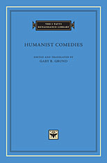 Cover: Humanist Comedies in HARDCOVER
