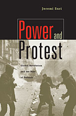 Cover: Power and Protest: Global Revolution and the Rise of Detente