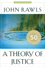 Jacket: A Theory of Justice, by John Rawls