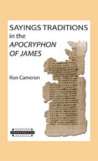 Cover: Sayings Traditions in the <i>Apocryphon of James</i>