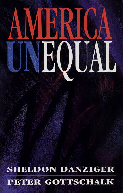 Cover: America Unequal, from Harvard University Press