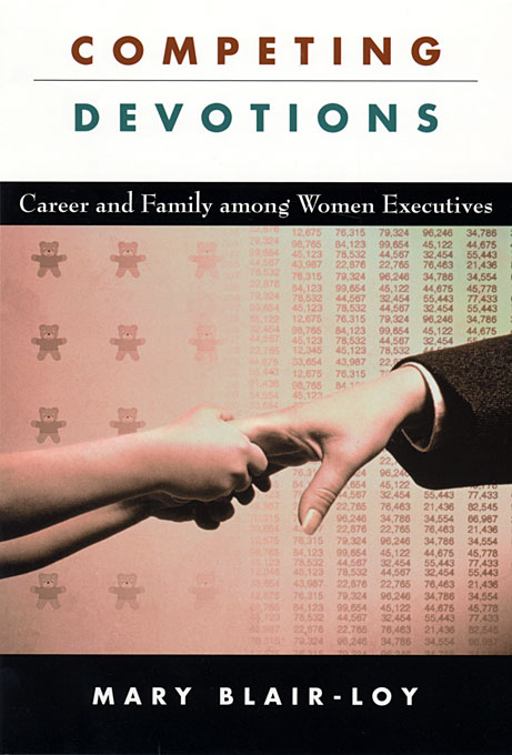Cover: Competing Devotions: Career and Family among Women Executives, from Harvard University Press