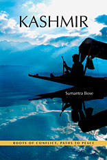 Cover: Kashmir: Roots of Conflict, Paths to Peace, by Sumantra Bose, from Harvard University Press