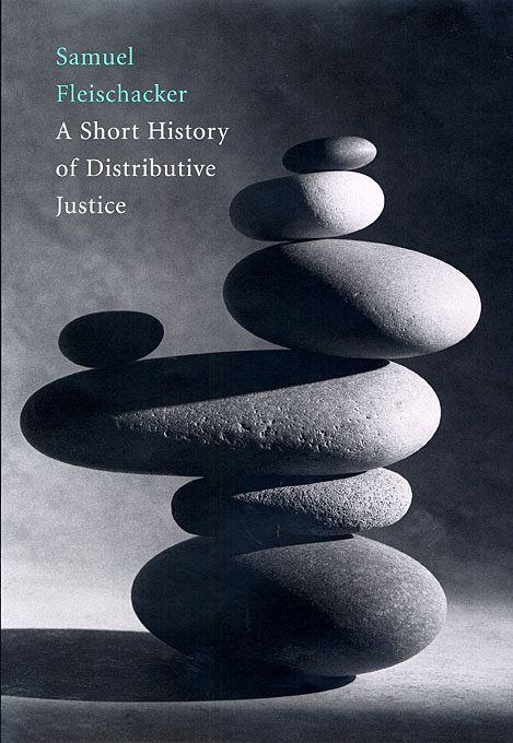 Cover: A Short History of Distributive Justice, from Harvard University Press