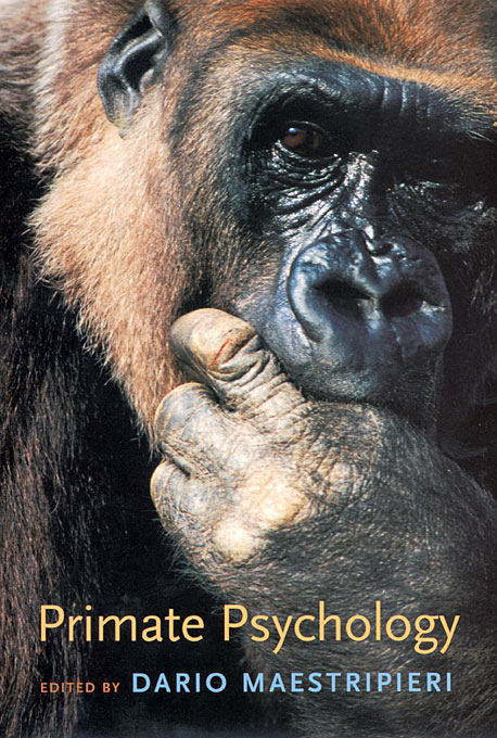 Cover: Primate Psychology, from Harvard University Press