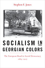 Cover: Socialism in Georgian Colors: The European Road to Social Democracy, 1883–1917