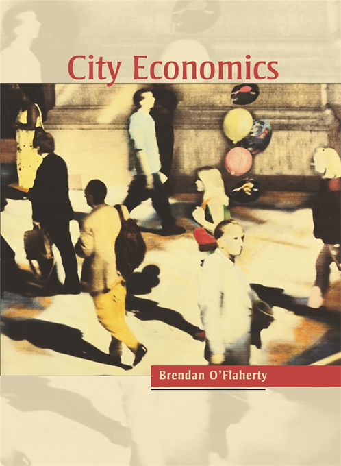 Cover: City Economics, from Harvard University Press