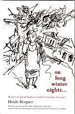 Cover: On Long Winter Nights: Memoirs of a Jewish Family in a Galician Township, 1870-1900